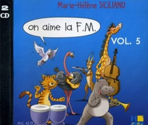 SICILIANO - CD - On Aime la FM Volume 5 - Partition - di-arezzo.fr
