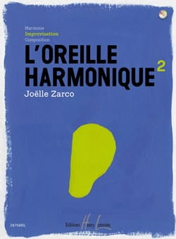 L' Oreille Harmonique Volume 2 Joelle Zarco Partition laflutedepan
