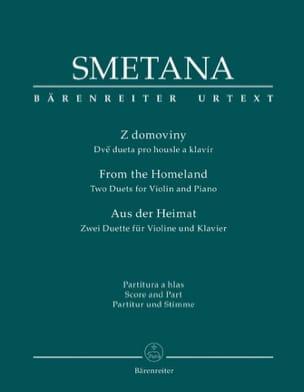 Bedrich Smetana - Aus Der Heimat - Partition - di-arezzo.fr