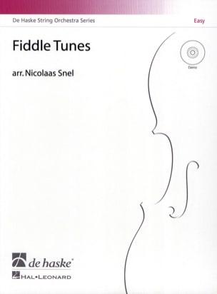 Fiddle Tunes - CD en téléchargement - Nicolaas Snel - laflutedepan.com