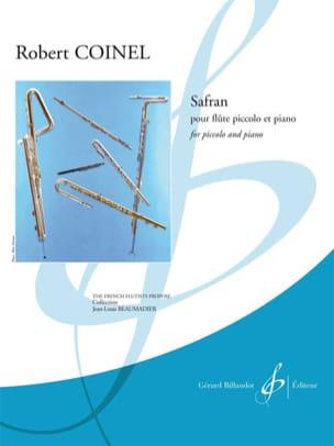 Safran Robert Coinel Partition Flûte traversière - laflutedepan