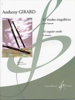 Anthony Girard - 16 Singular Studies - Sheet Music - di-arezzo.com