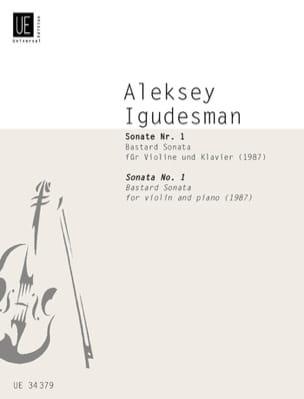 Sonate N°1 (1987) - Aleksey Igudesman - Partition - laflutedepan.com