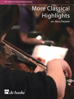 Classical Highlights - Nico Dezaire - Partition - laflutedepan.com