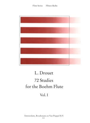 Louis Drouet - 72 Etudes for the Boehm Flute Volume 1 - Partition - di-arezzo.fr