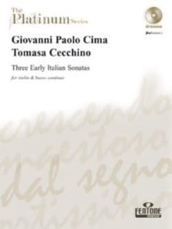Three Early Italian Sonatas - laflutedepan.com