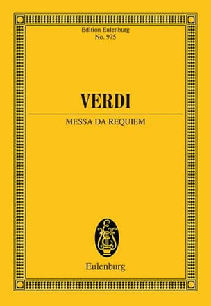 VERDI - Requiem - Partition - di-arezzo.fr