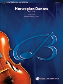 Norwegian Dances 2 & 3 arrgt Merle Isaac - Full orchestra laflutedepan