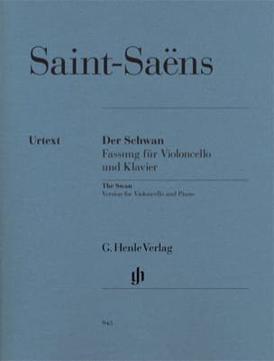 Camille Saint-Saens - The Swan - Sheet Music - di-arezzo.co.uk
