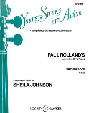 Young Strings In Action Volume 1 - Viola Paul Rolland laflutedepan