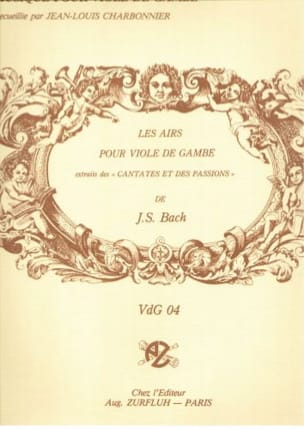 Bach Johann sebastian Charbonnier Jean Louis - Bach's Airs - Extracts from Cantatas and Passions - Sheet Music - di-arezzo.com