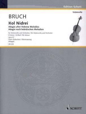 Max Bruch - Kol Nidrei Op. 47 en Ré Min. - Partition - di-arezzo.fr