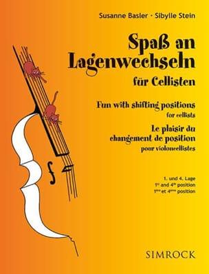 Basler Susanne / Stein Sybille - Spass An Lagenwechseln Für Cellisten 1 - 4 - Sheet Music - di-arezzo.com