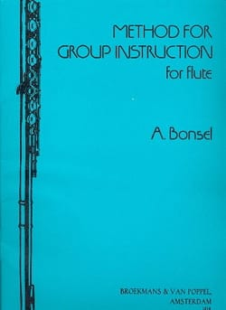 Method for Group Instructions Vol 1 - Adrian Bonsel - laflutedepan.com