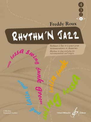 Freddy Roux - Rhythm'n Jazz Volume 1 - Sheet Music - di-arezzo.com