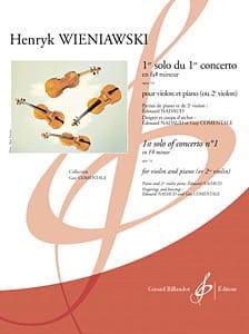 1er Solo Du 1er Concert En Fa # Mineur Op. 14 WIENAWSKI laflutedepan