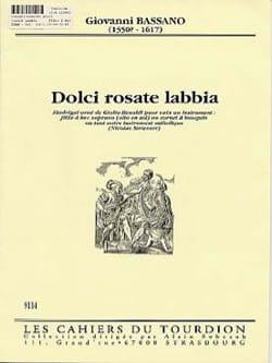 Giovanni Bassano - Dolci Rosate Labbia - Sheet Music - di-arezzo.com