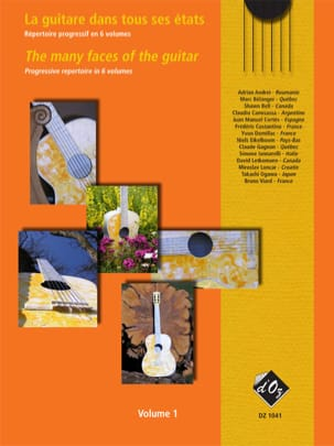 - La Guitare dans tous ses Etats Volume 1 - Partition - di-arezzo.fr