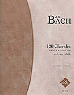 120 Chorales Volume 1 - Johann Sebastian Bach - laflutedepan.com