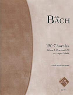 120 Chorales - 4 Guitares Vol 3 - BACH - Partition - laflutedepan.com