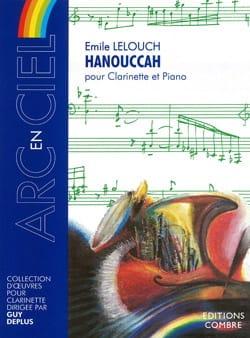 Hanouccah Emile Lelouch Partition Clarinette - laflutedepan
