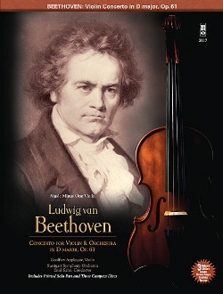 Concerto For Violon In D Major Op.61 - CD Inclus - laflutedepan.com