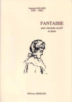 Fantaisie - Augusta Holmès - Partition - Clarinette - laflutedepan.com