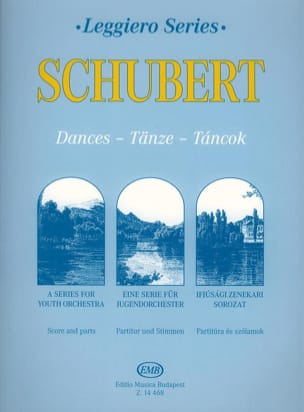 Franz Schubert - Dances For Youth String Orchestra - Partition - di-arezzo.fr