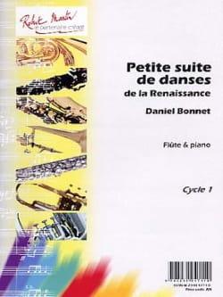 Daniel Bonnet - Petites Suites de Danses de la Renaissance - Partition - di-arezzo.fr