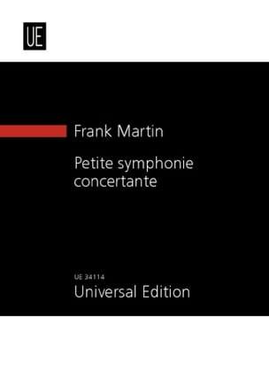 Petite Symphonie Concertante Frank Martin Partition laflutedepan