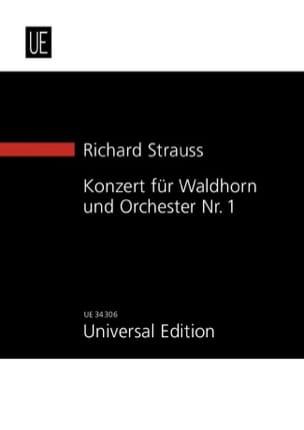 Waldhornkonzert Es Dur Op. 11 - Richard Strauss - laflutedepan.com
