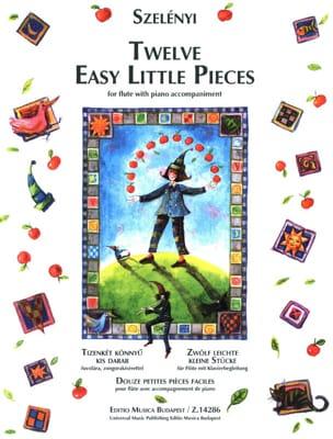 12 Easy Little Pieces - Flute/Piano Istvan Szelényi laflutedepan