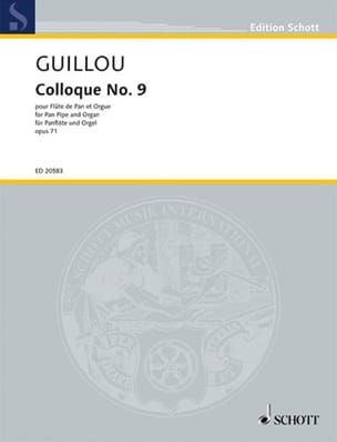 Jean Guillou - Colloque N°9 Op.71 - Partition - di-arezzo.fr