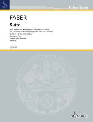 Johann Christoph Faber - Suite En Sol Maj. - Partition - di-arezzo.fr