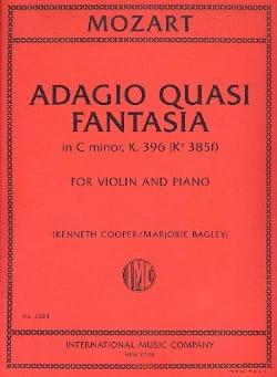 Adagio Quasi Fantasia En Do Min. K.396 - laflutedepan.com