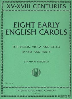 Eight Early English Carols - Partition - Trios - laflutedepan.com
