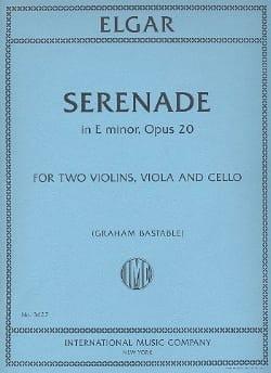 Sérénade En Mi Min. Op.20 - Edward Elgar - laflutedepan.com