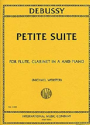 Claude Debussy - Petite Suite - Partition - di-arezzo.fr