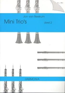 Mini Trio's Deel 2 - 3 Winds - Sheet Music - di-arezzo.com