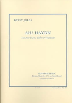 Ah ! Haydn - Betsy Jolas - Partition - Trios - laflutedepan.com