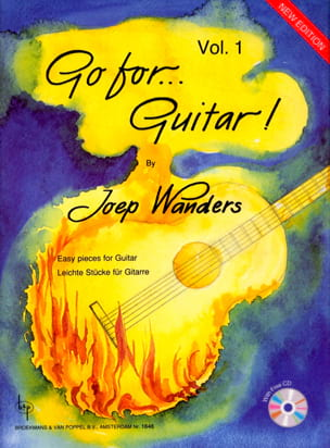 Joep Wanders - Go for Guitar Volume 1 (Grade 1-2) - Partition - di-arezzo.fr