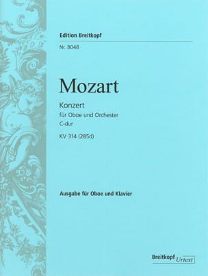 MOZART - Concerto in C Maj. - Kv 314 285d - Sheet Music - di-arezzo.co.uk