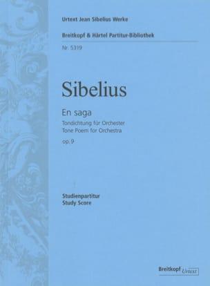 Jean Sibelius - En Saga Op.9 - Partition - di-arezzo.fr