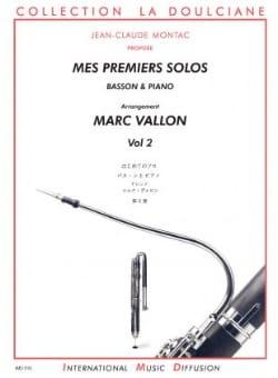 Marc Vallon - Mes Premiers Solos Volume 2 - Partition - di-arezzo.fr