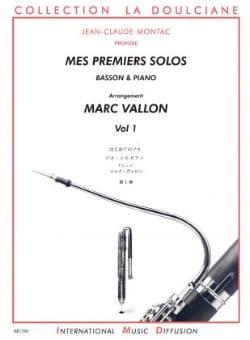 Mes Premiers Solos - Basson - Volume 1 Marc Vallon laflutedepan