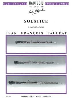 Jean-François Pauleat - Solstice - Partition - di-arezzo.fr