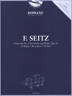 Friedrich Seitz - 協奏曲第4番Op.15 in D Maj。 - 楽譜 - di-arezzo.jp