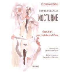 Nocturne - Piotr Illitch Tchaikovski - Partition - laflutedepan.com