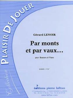 Jean Lenoir - Par Monts et par Vaux... - Partition - di-arezzo.fr