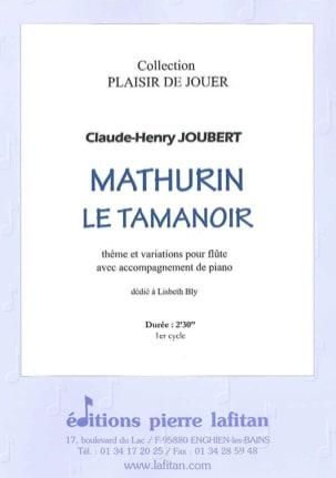 Claude-Henry Joubert - Mathurin the Tamanoir - Sheet Music - di-arezzo.co.uk